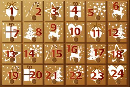 Адвент-календарь в Германии