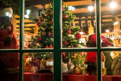 Немецкие окна на Рождество