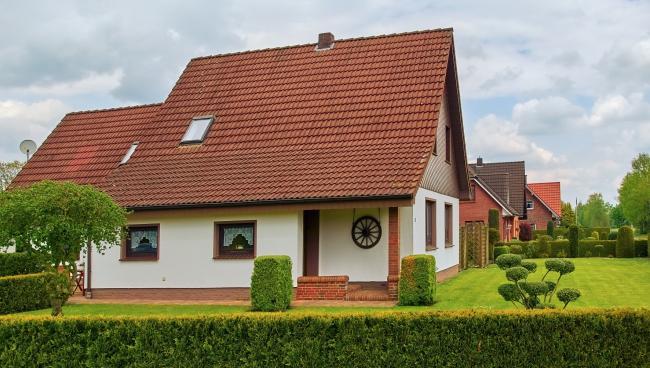 Типичный Einfamilienhaus в Германии