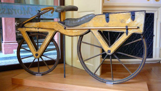Велосипед Дрейса