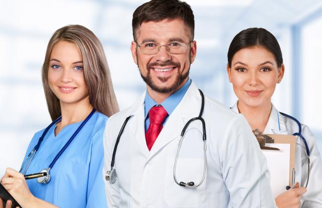 Группа медицинских работников