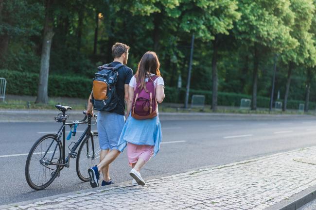 Ученик курсов познакомился с немкой