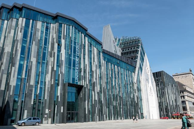 Здание университета Лейпциг