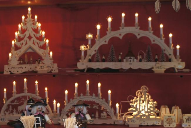 Дуги из свеч в Германии