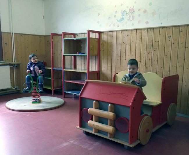 Детская комната лагерь Фридланд