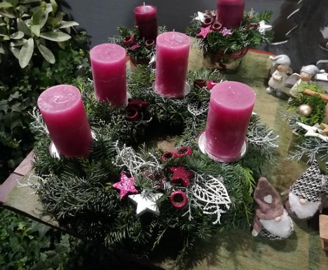 Венок адвента в Германии