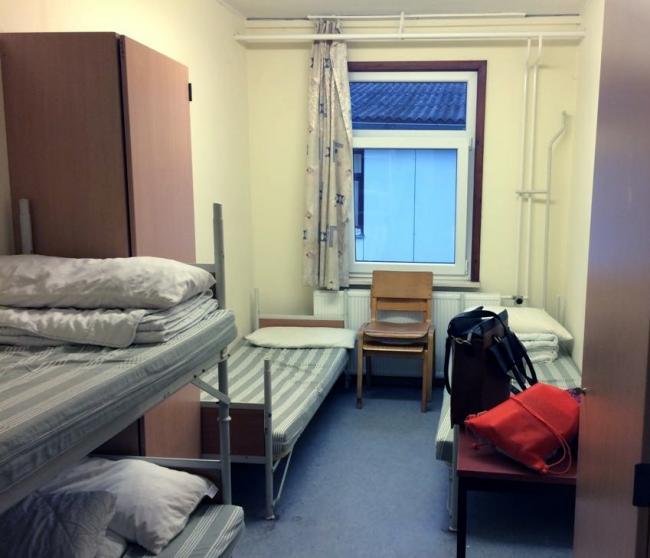 Комната в лагере Фридланд