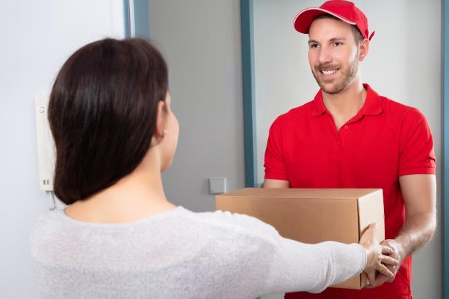 Получение онлайн-заказа по почте
